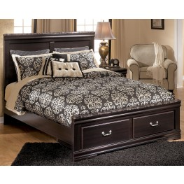 Esmarelda Queen Panel Storage Bed