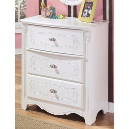 Exquisite Three Drawer Chest