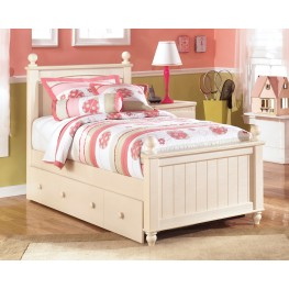 Cottage Retreat Twin Poster Bed With Twin Trundle