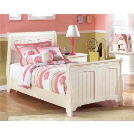 Cottage Retreat Full Sleigh Bed