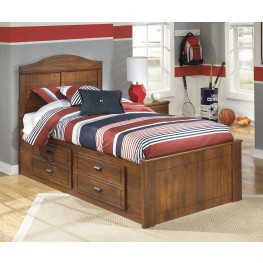 Barchan Twin Panel Bed With Underbed Storage