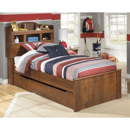 Barchan Twin Bookcase Bed With Trundle