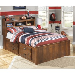 Barchan Full Bookcase Underbed Storage Bed
