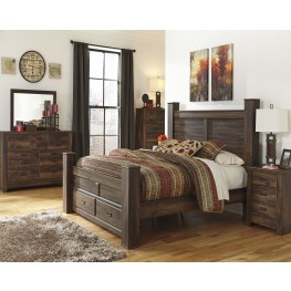 Quinden Poster Storage Bedroom Set