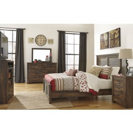 Quinden Panel Bedroom Set