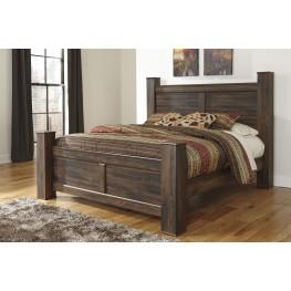 Quinden King Poster Bed