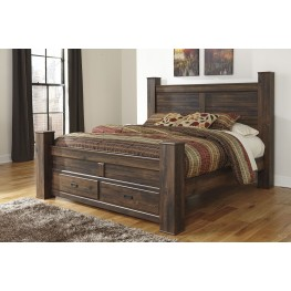 Quinden King Poster Storage Bed