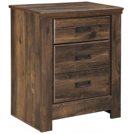 Quinden Two Drawer Nightstand