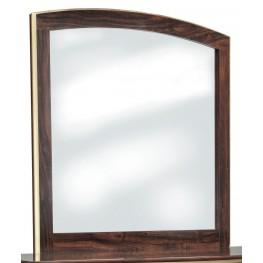Lenmara Reddish Brown Bedroom Mirror