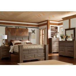 Juararo Poster Storage Bedroom Set