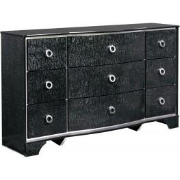 Amrothi Black Dresser
