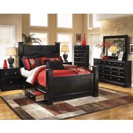 Shay Poster Storage Bedroom Set