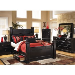 Shay Poster Storage Bedroom Set
