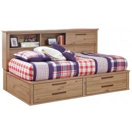 Dexifield Twin Bookcase Storage Bed