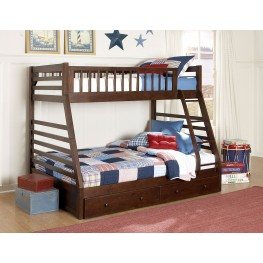 Dreamland Twin Over Full Bunk Bed