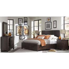 Pine Hill Rustic Pine Panel Storage Bedroom Set