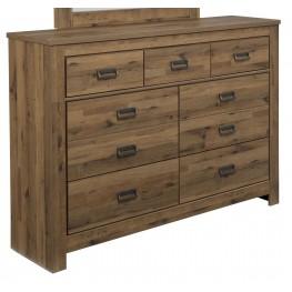 Cinrey Medium Brown Dresser