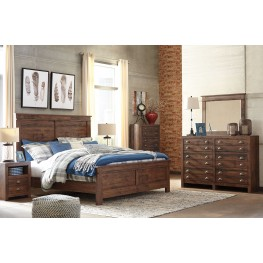 Hammerstead Brown Panel Bedroom Set