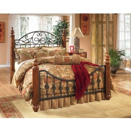 Wyatt Queen Poster Bed
