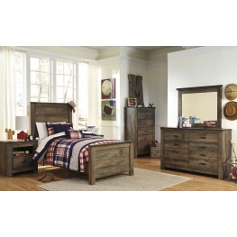 Trinell Brown Youth Panel Bedroom Set