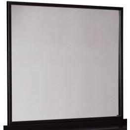 Stavani Black and Brown Bedroom Mirror