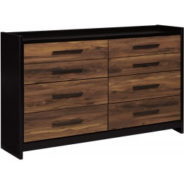 Stavani Black and Brown Dresser