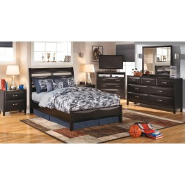Kira Youth Panel Bedroom Set