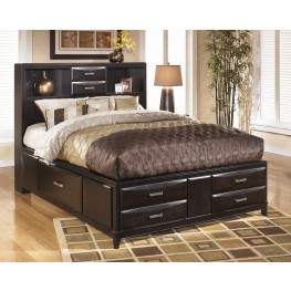 Kira Cal King Storage Bed