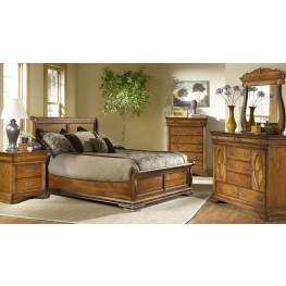 Shenandoah American Oak Panel Bedroom Set