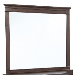 Timbol Warm Brown Bedroom Mirror