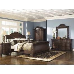 North Shore Sleigh Bedroom Set