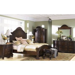 North Shore Panel Bedroom Set