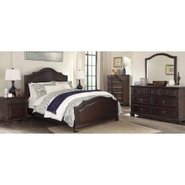Brulind Brown Panel Bedroom Set