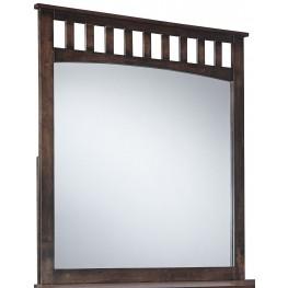 Strenton Brown Bedroom Mirror