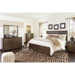 Mydarosa Panel Bedroom Set
