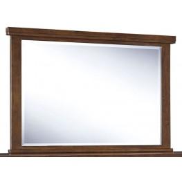 Ralene Medium Brown Bedroom Mirror