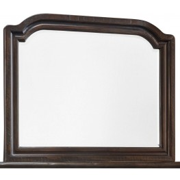 Gerlane Dark Brown Bedroom Mirror