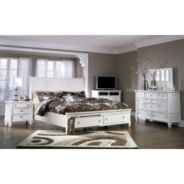 Prentice Storage Sleigh Bedroom Set