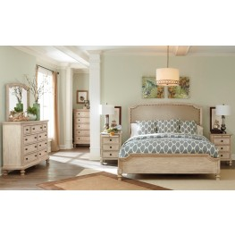 Bedroom sets coleman furniture for Demarlos upholstered panel bedroom set