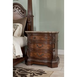 Ledelle Three Drawer Nightstand