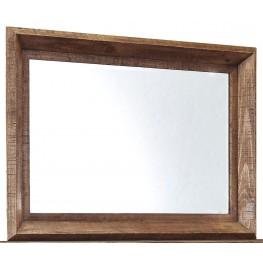 Tamilo Grayish Brown Bedroom Mirror