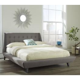 Prelude Ash Cal. King Ornamental Platform Bed