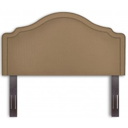 Versailles Walnut and Brown Sugar Twin Headboard