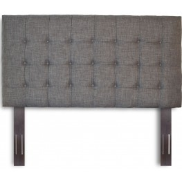 Strasbourg Walnut and Charcoal Full/Queen Headboard