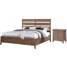 Viewpoint Steel Gray Bedroom Set
