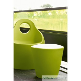 Baba Junior Green Outdoor Chair