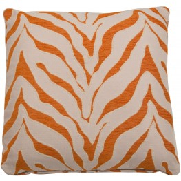 "Casablanca Tangerine 22"" Square Pillow"