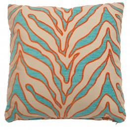 "Casablanca Turquoise 22"" Square Pillow"
