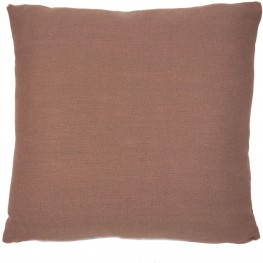 "Dublin Cocoa 22"" Square Pillow"