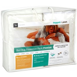 Bed Bug Prevention Pack 4Pc Full Extra Large Mattress Protector